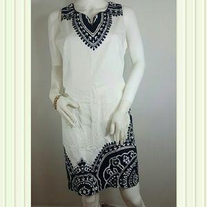 White House Black Market Sleeveless Dress Size 10